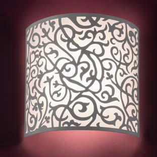 decoratieve wandlamp van Disegnololuce