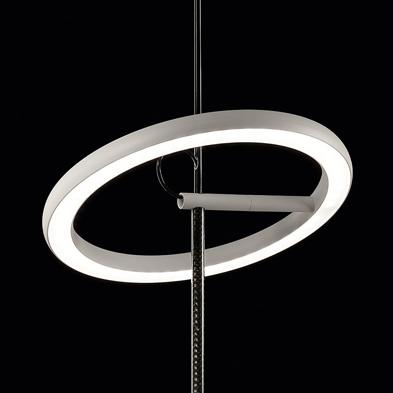 RingelpiezIngo hanglamp, ontwerp van Ingo Maurer