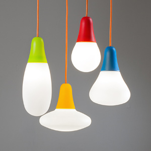Lamps and innovative lighting systems with essential and original design