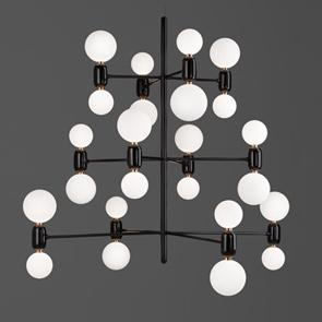 ABALLS chandelier kroonluchter van parachilna