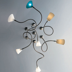 HOPPER FLEX, flexibele LED spots van Steng