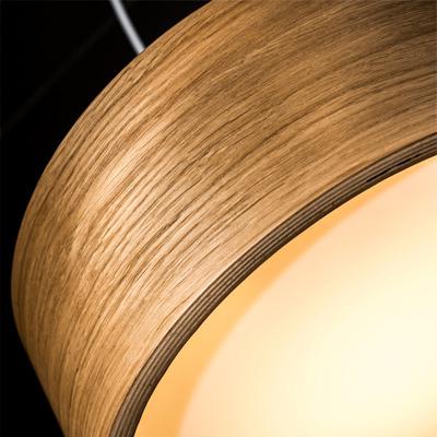 Houten hanglamp van Tal