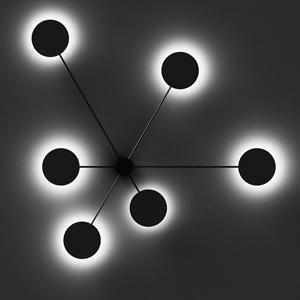 Plafondverlichting / muurlamp round control 3 van tossB