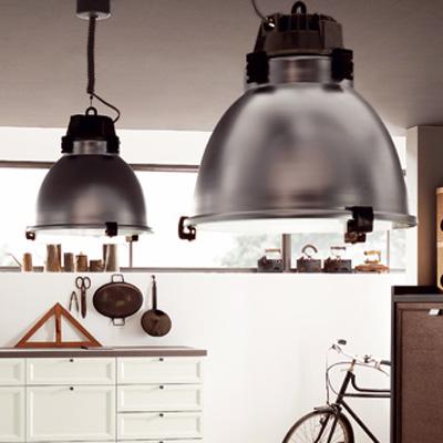 Industrie hanglampen van Castaldi
